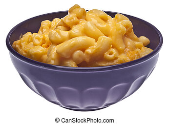 Macaroni and Cheese - Traditional American Favorite Food...