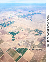 Fields of Arizona, USA