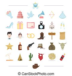 , state, tourism, business and other web icon in cartoon style.scarf, cervical, explosive, icons in set collection.
