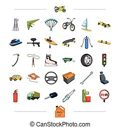 components, business, tradeand other web icon in cartoon style., attributes, sport, competitions, icons in set collection.