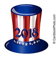 Uncle Sam 2018 Flag Hat
