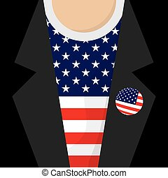 I Love USA T-Shirt Vector Illustration