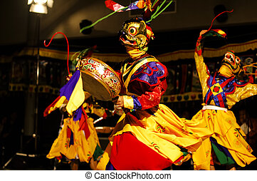 "Lama Dance ""Bardo""- The Kingdom of Bhutan - Lama Dance..."