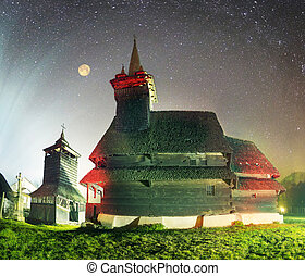 Unique wooden churches
