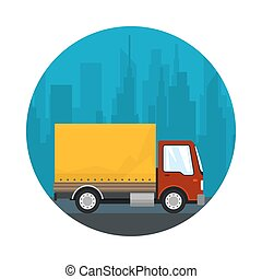 Icon Shipping and Freight of Goods
