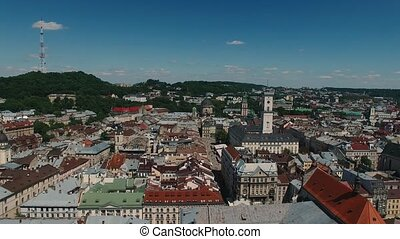 European City.Central Part of Old City