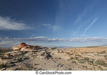 Clear sky above Grand Canyon - Grand Canyon, beautiful city,...