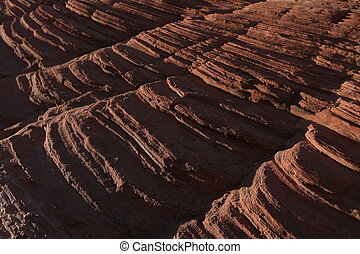 Stone background. Close up - Stone texture, arizona canyon,...