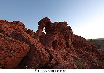 Morning in Arizona canyon - Morning in arizona canyon,...