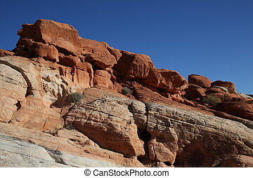 Rocks of Arizona Canyon - Mountain range, arizona canyon,...