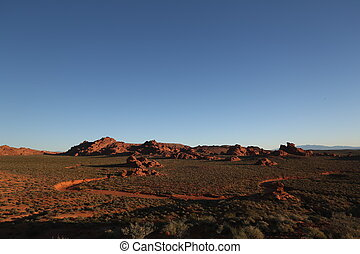 Arizona mountain range - Mountain range, arizona canyon,...