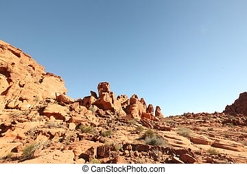 Arizona desert, beautiful landscape, blue sky, stunning...