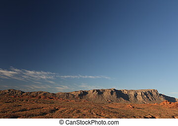 Mountain range, arizona canyon, beautiful landscape, blue...