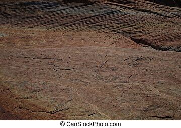 Brown canyon wall. Close up - Canyon texture background,...