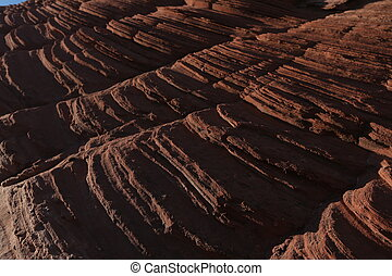 Stone texture. Close up - Rock texture, arizona canyon,...