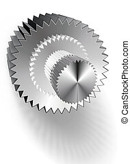built-up gear - complex gear, isolated