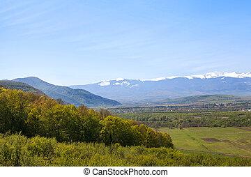 Retezat moutains, Romania - Landscape of the Retezat...