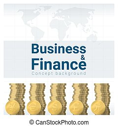 Business and Finance concept background with major currencies 2