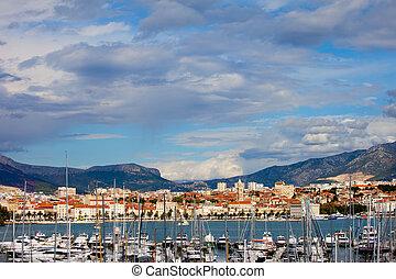 Split, panorama