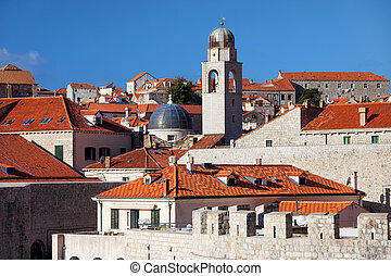 Dubrovnik Old City Architecture - Dubrovnik Old City...