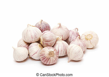 heap of garlic