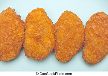 Chicken Nugget Snack - Vibrant Kid Friendly Chicken Nugget...