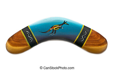 boomerang - painted boomerang