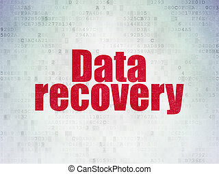 Information concept: Data Recovery on Digital Data Paper...