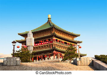 Bell Tower in Xi'an, China