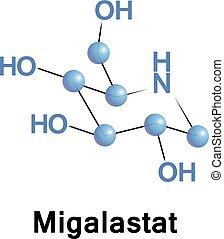 Migalastat treatment of Fabry disease - Migalastat is used...