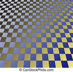 floor - industrial perspective background