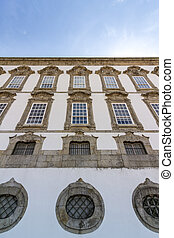 Episcopal Palace perspective, the former residence of the...
