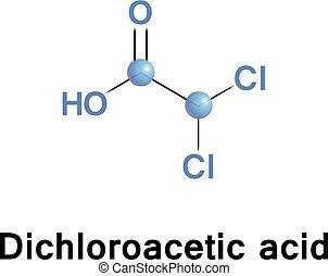 Dichloroacetic acid or bichloroacetic - Dichloroacetic acid,...