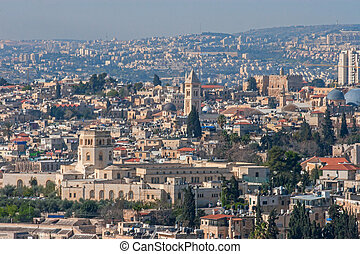 Jerusalem, Israel, view of the city