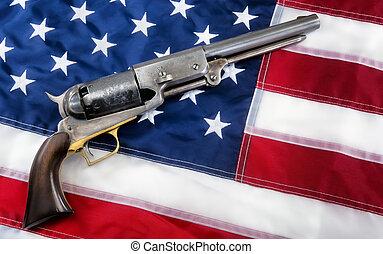 Old Western Pistol.