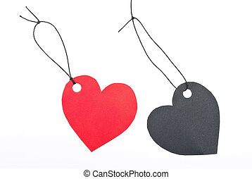 """Gift tags """"heart"""""""