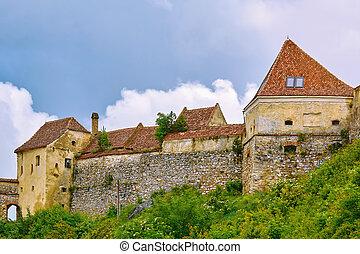 Rasnov Citadel in Romania - Rasnov Citadel (Rosenauer Burg)...