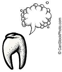 symbol-100, ícone, dente, odontologia