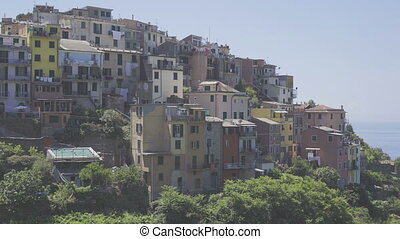 Beautiful amazing village of Corniglia in the Cinque Terre...