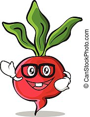 Geek radish character cartoon collection