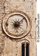 Split clock