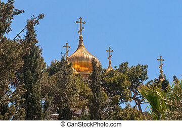 Church of Mary Magdalene, Jerusalem, Israel