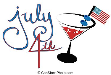 July 4th Cocktail