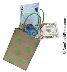 Dar, presupuesto, regalo