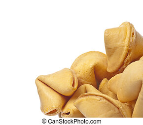 Fortune Cookie Border - Traditional Fortune Cookies Border...