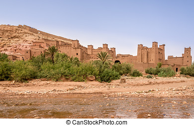 View at the Kasbah Ait Benhaddou - Morocco - View at the...