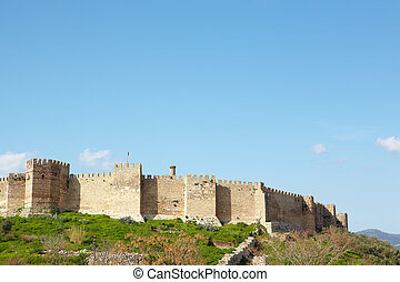st Johns Basilica - Ayasuluk Castle from the ruins of the...