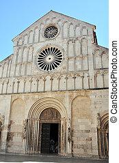Zadar - St Anastasia Cathedral in Zadar, Croatia