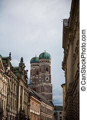 Frauenkirche, Frauentürme, sight in Munich
