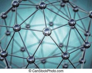 Molecular structure. 3D